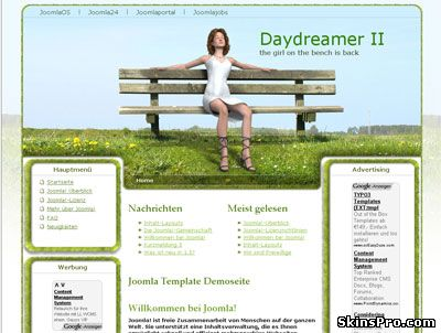Daydreamer 2 Template