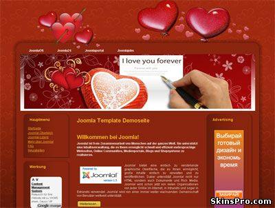 Love V2 Joomla Theme